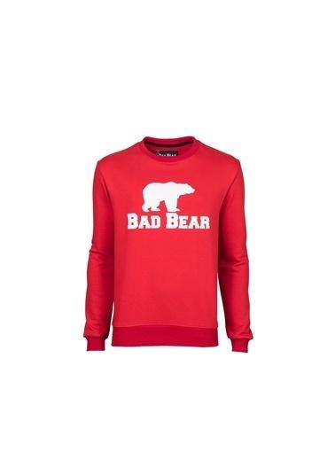 Bad Bear Erkek Sweatshirt Crewneck 200212011-Red Kırmızı